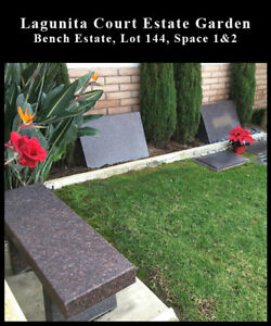 Pacific View Bench Estate 2 Side-by-Side Burial_Cemetery Plot_Corona Del Mar CA