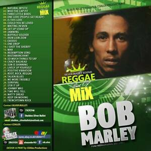 Silver Bullet Sound - The Best Of Bob Marley Mix CD