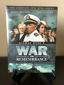 War and Remembrance The Complete Epic Mini-Series Set Robert Mitchum BRAND NEW