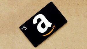$5 Amazon Gift Cards - Free Shipping