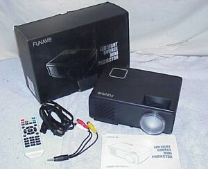 Projector FUNAVO RD-815 LED Mini Video Projector for Multimedia Home Theater