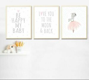 Kids Canvas Posters And Print For Bedroom Wall Art Decor Home Painting Displays