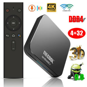 MECOOL KM9 Pro Android 9.0 TV Box S905X2 4GB+32GB 4K 3D Voice Control Mini PC
