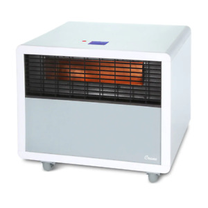 Crane Infrared Heater Space Heater with Quartz Heating Element White $41.98