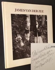 Lilianne De Cock, Eds Reginald McGhee James Van Der Zee Signed 1st ed 1973