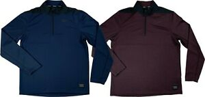 Nike Golf Mens Dri-Fit Core Pull Over Half Zip Shirt BluePurple AH5548 New