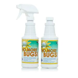 Naturally Green No More Bugs! Concentrate 2 pack with Sponge