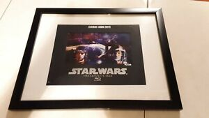 Star Wars exclusive SDCC exclusive lithograph. Bluray release numbered #82