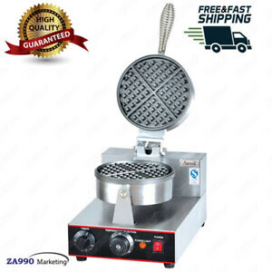 1000W Safty Electric Egg Cake Oven Waffle Bake Machine Pancake Maker Commercial