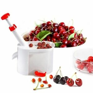 Cherry Pitter Core Container Seed Remover Machine Olive Fruit Vegetable Tool