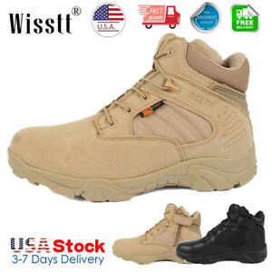Men's Delta Military Tactical Ankle Boot Army Hiking Shoes Desert Combat US 511