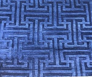 AN ATTRACTIVE FENDI DESIGN ART DECO CHINESE RUG