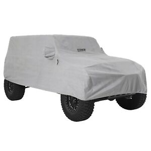 Smittybilt 845 (IN STOCK) Full Climate Cover w/ Lock & Cable 18-19 Jeep JL 4-Dr