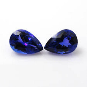 3X4MM TO 7X10MM AAA QUALITY NATURAL TANZANITE PEAR CUT FACETED LOOSE GEMSTONE