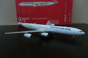 Phoenix 1:400 Turkish Airlines A340 300 TC JDM