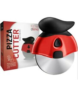 Pizza Cutter Wheel - Smooth Slicing with Sharp Stainless Steel Blade -