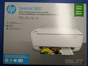 HP DeskJet 3631 Wireless All-in-One Compact Limited Edition Printer Includes Ink