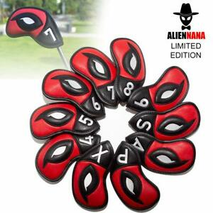 New Set Golf Iron Covers Club Headcovers Protective for Taylormade Titleist Ping $29.99
