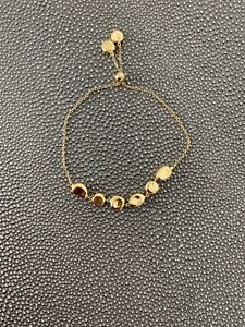 Brand New With Tags Ippolita 14k Gold Onga Adjustable Bracelet