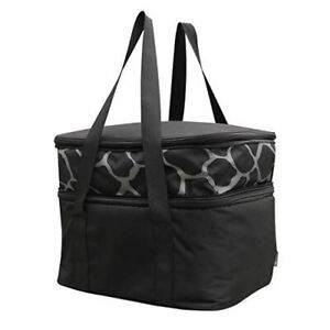 Insulted Food Carrier Double Casserole Carrier Lasagna Lugger for Potluck Party