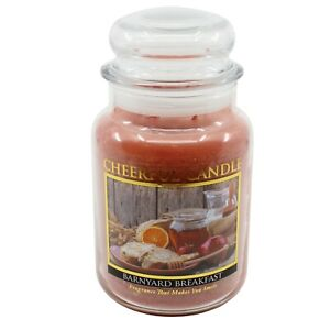 Barnyard Breakfast Scented Candle 24 oz Cheerful Candle CC126
