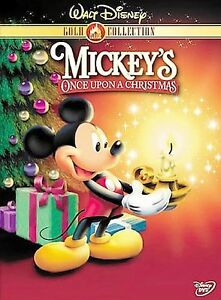 Mickeys Once Upon a Christmas (DVD 2003 Gold Collection Edition) Disney