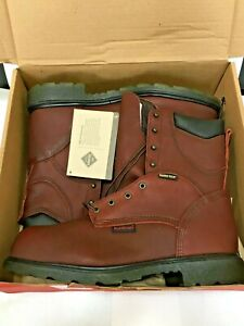 MEN'S RED WING 2412 BROWN LEATHER 8