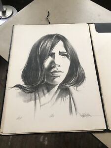 PAUL COLLINS STONE LITHOGRAPH RARE HAND SIGNED ARTIST PROOF