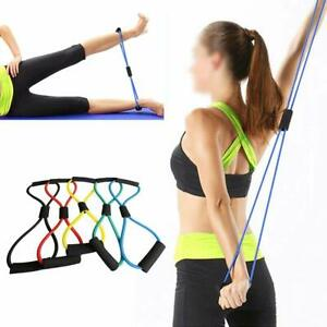Resistance Exercise Workout Tube Fitness Band Heavy Duty Yoga Thigh Loop Stretch