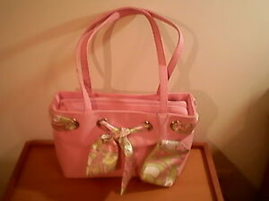 Sonoma pink shoulder bag 8 in. x 13 in. x 8 in. x 10 in.  change purse scarf