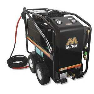 MI-T-M GH-3004-SM30 Medium Duty 3000 psi 3.5 gpm Hot Water Electric Pressure
