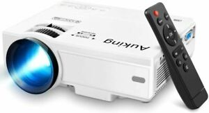 Mini Projector 2019 Upgraded Portable Video-Projector55000 Hours Multimedia...