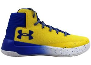 Under Armour Men's Curry 3 Zero Athletic Basketball Shoes Taxi Yellow