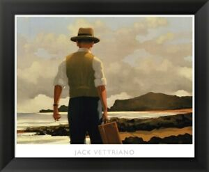 Jack Vettriano quot;The Drifterquot; Framed Art 24x22