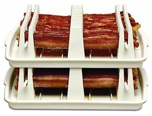 Emson Bacon Wave Double Stack Microwave Bacon Cookers-Set Of 2!