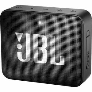 JBL GO 2 Portable Bluetooth Waterproof Speaker Black JBLGO2BLKAM
