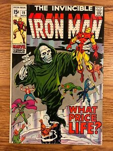 Iron Man #19 (1969) Marvel Key Issue Silver Age Comic Captain America App