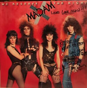 Madam x We Reserve The Right Jet Records 1984 BFZ39885 Autographed $315.00