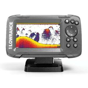 Lowrance HOOK2 4x with Bullet Transducer and GPS Plotter High-resolution Durable
