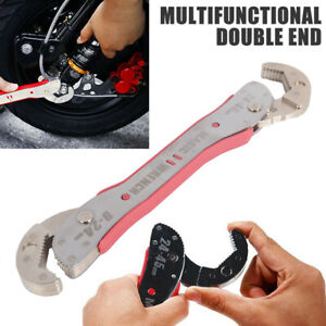 Magic Adjustable Multi Purpose Functional Spanner Tools Universal Wrench(9~45mm)