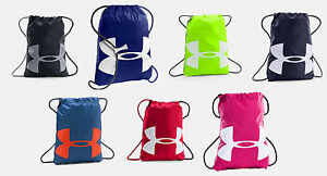 Under Armour Ozsee Sackpack UA Drawstring Backpack Sack Pack Gym Bag All Sport $16.99
