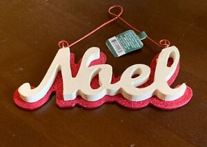 Christmas Decoration Wooden Noel Tree or Wall Hanging Ornament