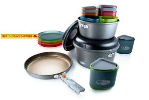 Gsi Outdoors - Pinnacle Camper 4 Person Camping Cook Set