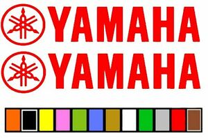 YAMAHA BOATS MOTORCYCLE STICKER DECAL FISHING * CHOOSE ANY COLOR OR SIZE