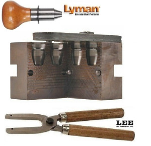 Lyman 2 Cav Mold for .44 240 Grain with Lee Handles 2660667+90005 New!