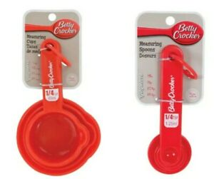 Kitchen tools Betty Crocker Nesting Measuring Cup amp; Spoon Sets