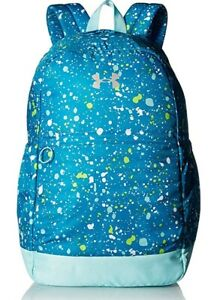 Under Armour Girls' Favorite Backpack, Blue Shift Metallic Silver, One Size, 008 $58.47