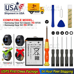 New Battery EB BR730ABE For Verizon Samsung Galaxy Gear S2 classic SM R735V Tool $12.99