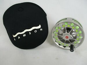 LAMSON GURU 2 Large Arbor FLY REEL; Made In USA G 2.0; Best For 5 or 6 Wt. Rods