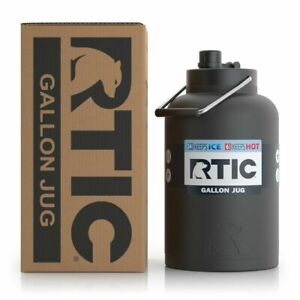 RTIC 1 Gallon Jug Black Holds the Ice Half the Price New One Gallon